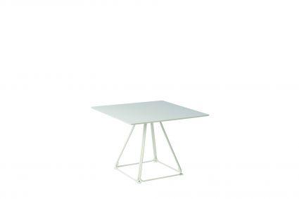 LUNAR TABLE 50 70X70 - Wit