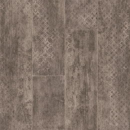 CARCASSONNE, PATTERNED WOOD - 5018 Blend Dark Grey